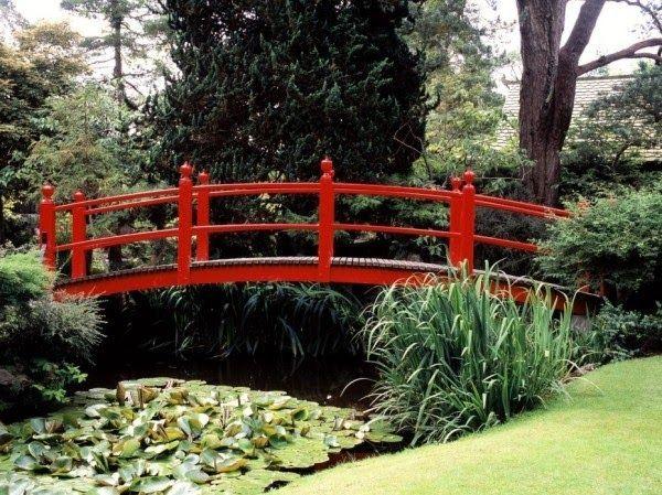 decoracao jardim japones : decoracao jardim japones:Japanese Garden Bridge Design