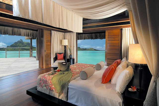 The St. Regis Bora Bora resort..... Where do I sign up!!