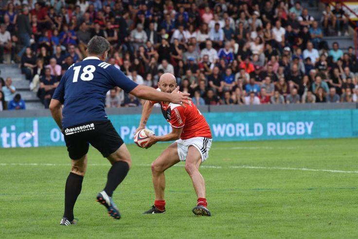 Fabien Barthez en mode rugby