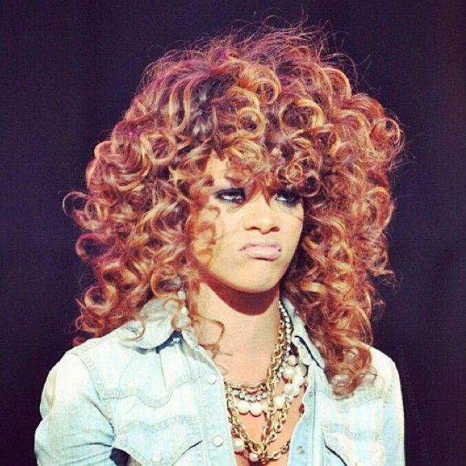 Curls  Ass Riri  W...
