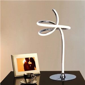 Modern Simple Aluminum Alloy Acrylic Material Elegant Smart LED Table Lamps