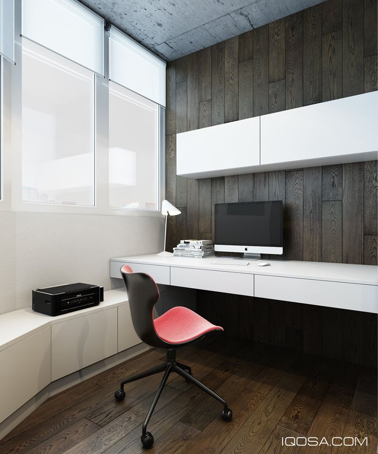 comfortable home office graphic design station. Beautiful Home Design A Chic Modern Space Around Brick Accent Wall With Comfortable Home Office Graphic Station