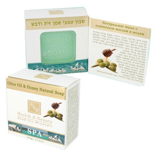 Hypoallergenic Olive Oil & Honey, Dead Sea Soap