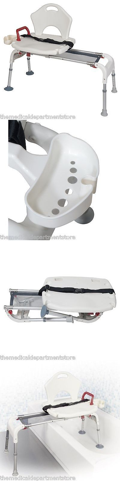 Transfer Boards and Benches: Bath Tub Transfer Bench Folding Universal Sliding Shower Chair Seat Rtl12075 -> BUY IT NOW ONLY: $146.99 on eBay!