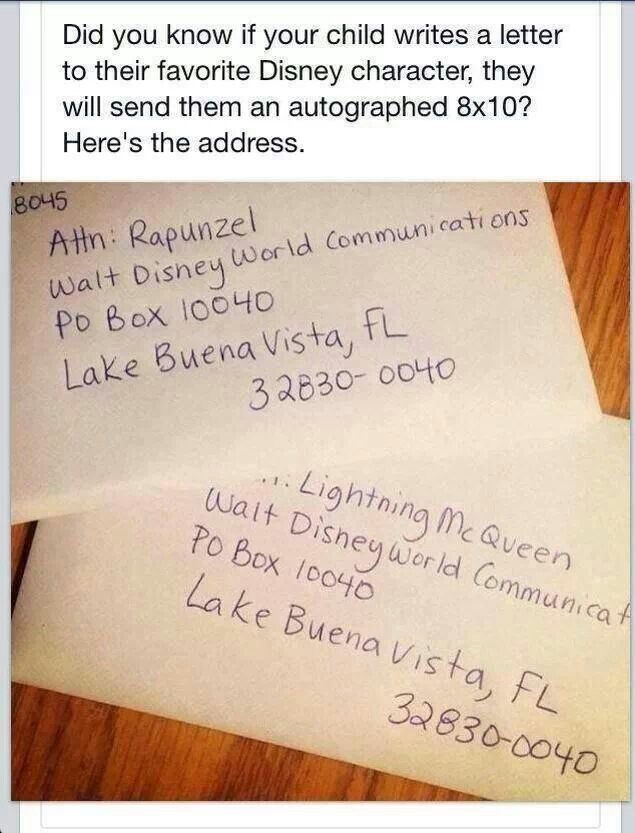 letter where to write address on postcards