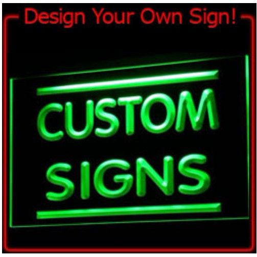 7 Colors tm Sign Design Your Own LED Light Sign Custom Neon LED Signs Bar open Dropshipping-in Plastic Crafts from Home & Garden on Aliexpress.com | Alibaba Group