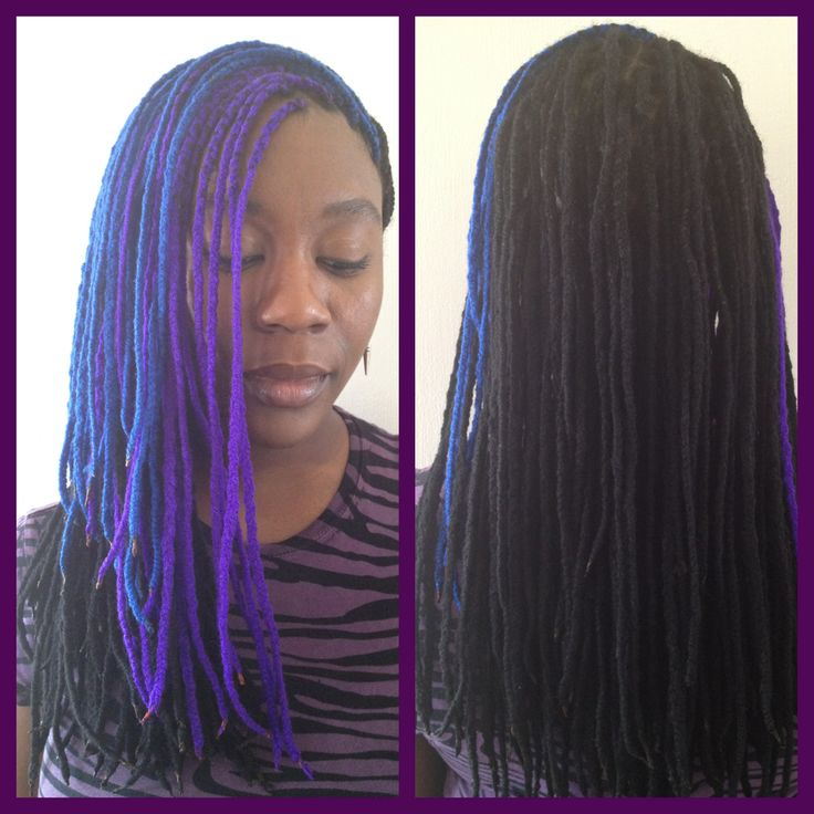 Crochet Yarn Braids : Colors, New Years and Photos on Pinterest