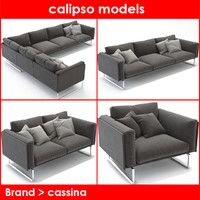 3ds max brand cassina