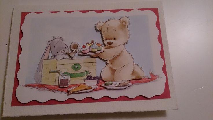 Bently bear 3D card