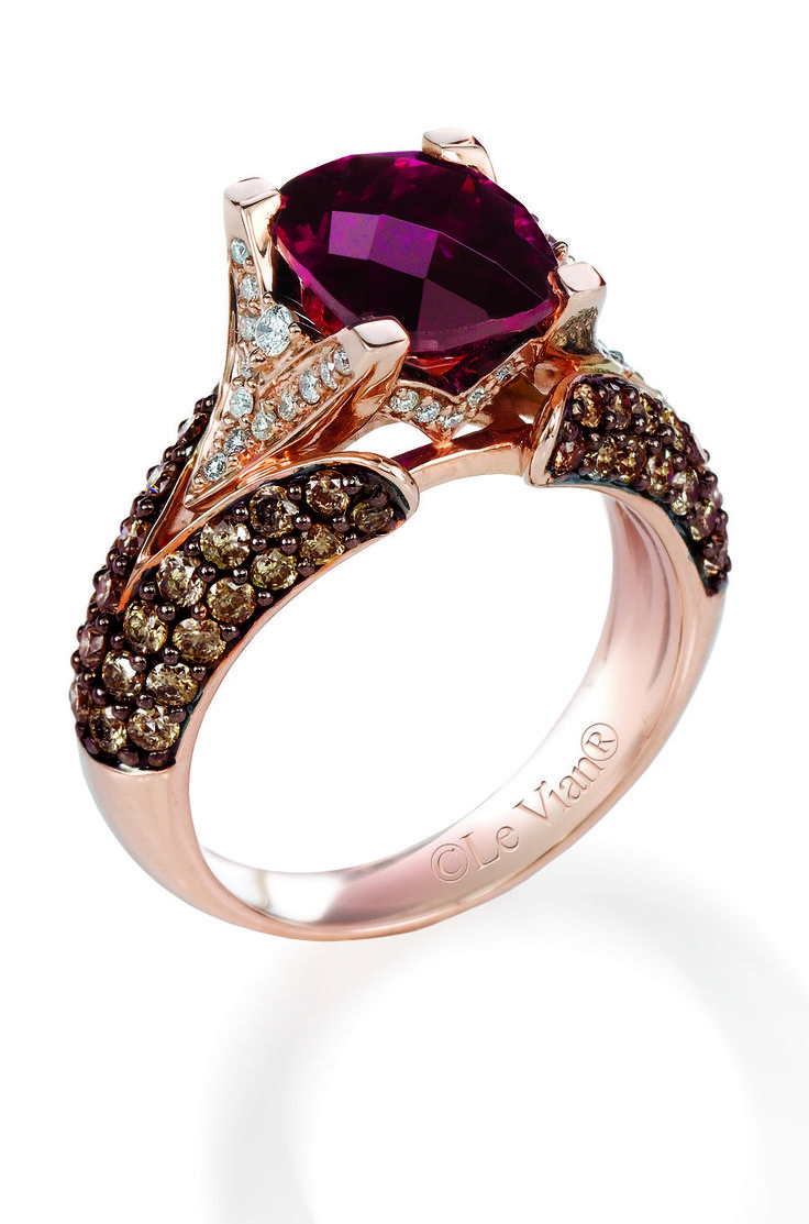 Chocolate Diamond Rings For A Fascinating & Unique Look