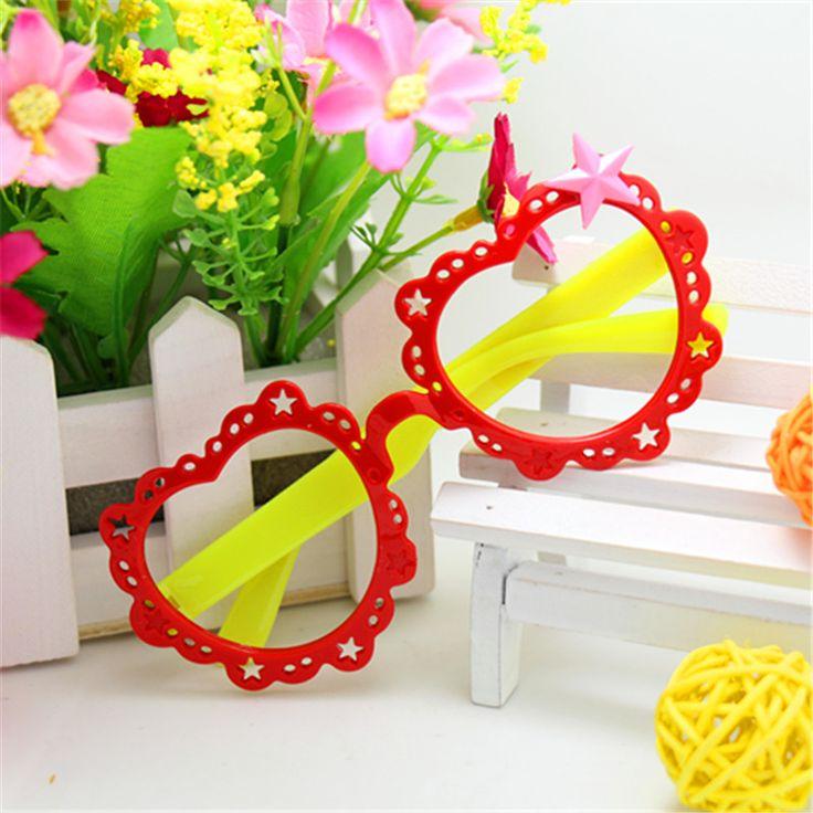 New Cut estilo óculos de moda de decoração laço da flor do coração Lelly crianças óculos de armação Unisex doce cor dos desenhos animados em Armações de Óculos de Roupas e Acessórios - Masculino no AliExpress.com | Alibaba Group