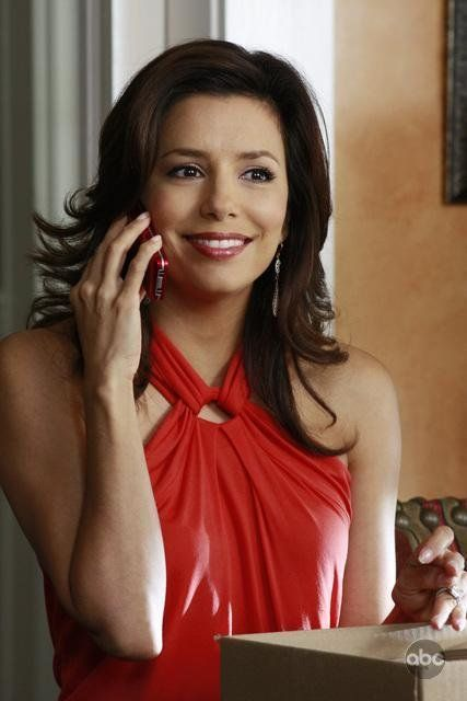 Eva Longoria as Gabrielle Solis in DESPERATE HOUSEWIVES. I often loved her casual look.