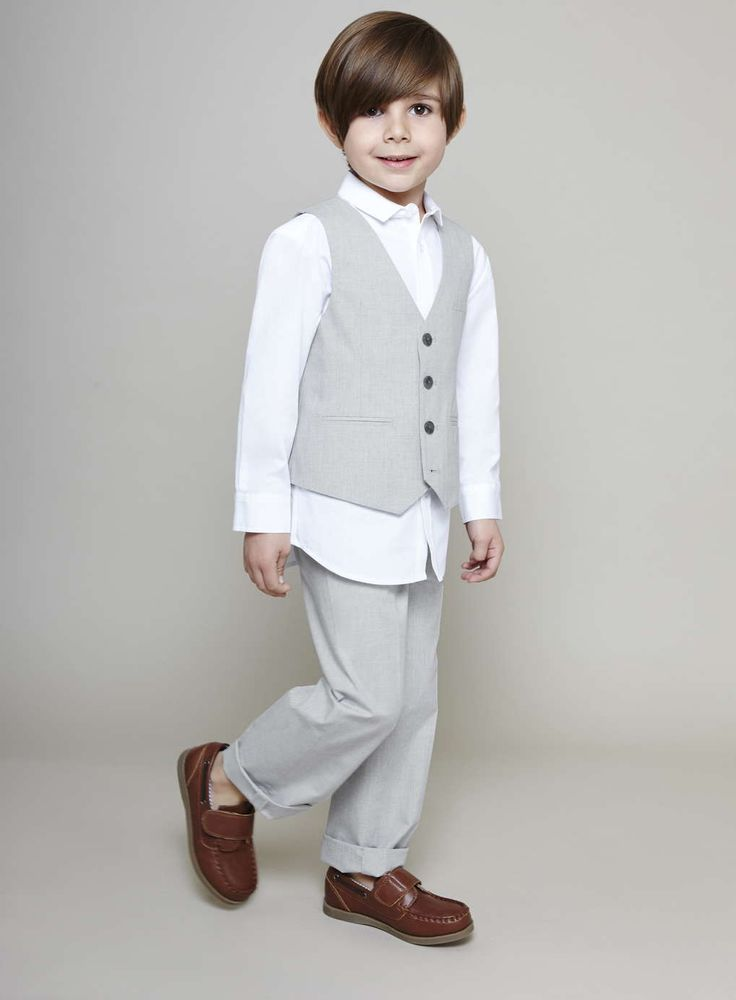 Home ›› Boys ›› Boys Waistcoat Sets Boys waistcoat worn for the formal look or a special occasion gives boys a touch of sophistication. Also worn at casual parties on .