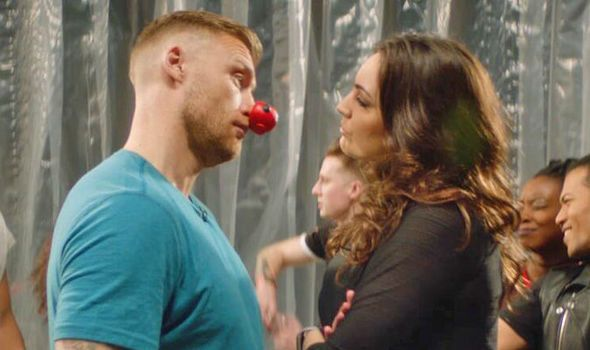 Freddie Flintoff takes on Kelly Brook in hilarious dance-off for Red Nose Day - video