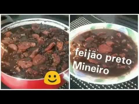 Feijão Preto com linguiça Mineiro. - YouTube