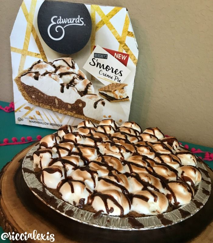 Celebrate Everyday with a Boozy Edwards S'mores Pie Shake - Ricci Alexis