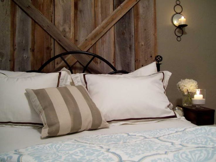 Rustic Headboards With Candle Decorative Ideas ~ http://topdesignset.com/many-types-of-classy-bedroom-furniture-headboards/