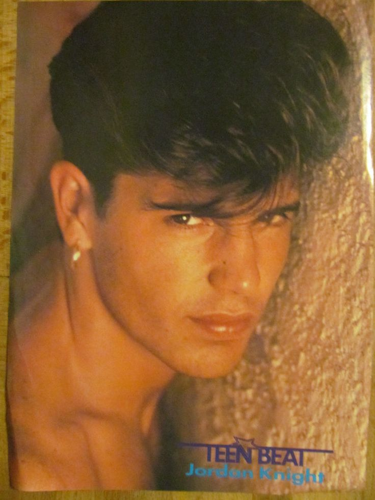 New Kids on the Block, NKOTB, Jordan Knight, Full Page Vintage Pinup