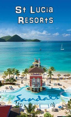 St Lucia Honeymoon and Wedding Resorts. Resort and things to do on the island review - Sandals Grande St. Lucian - The Best of the Caribbean  St Lucia All Inclusive Resort.  #St Lucia #Caribbean