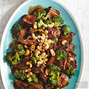 Pot roast tastes best after it's been cooked slow and low. This easy slow cooker method produces maximum tenderness for this Asian dinner.