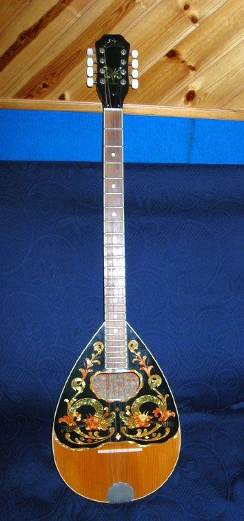 Bouzouki: Traditional musical instrument of GREECE ...