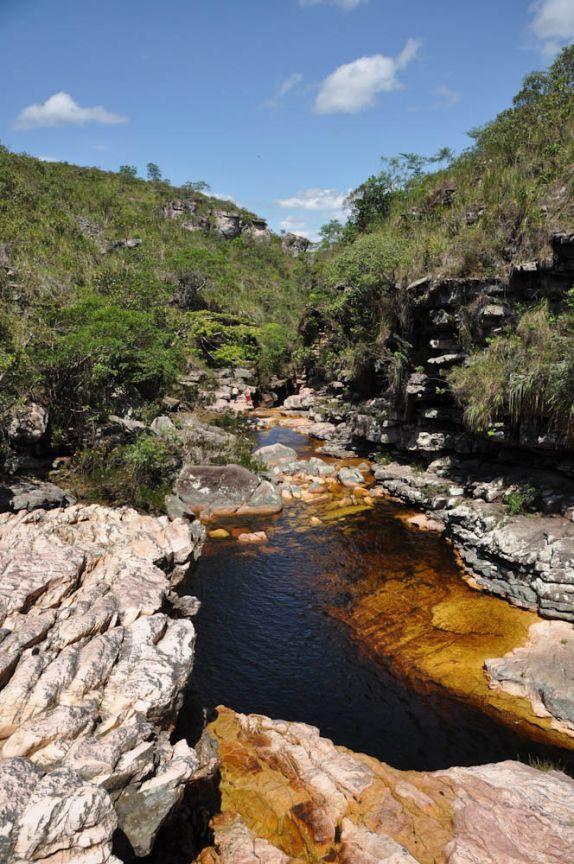 Rio Mucugezinho, próximo à Lençóis, na Chapada Diamantina - BAHIA    -                                                                                BRASIL