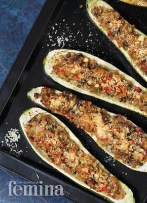 Zucchini Isi Portobello Dan Thyme
