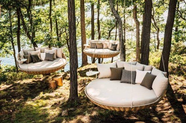 Mobilier extérieur design: 60 chaises-longues et lits de jardin