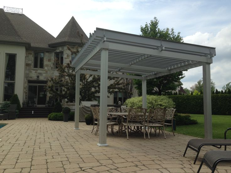17 best images about sunlouvre pergolas on pinterest for Terrace pergola