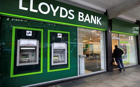 Thousands Of Customers Of Lloyds Bank Halifax And Bank Of