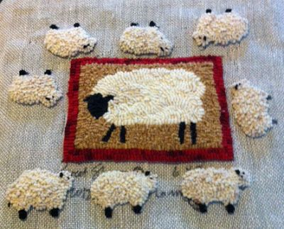 When you are vending at a sheep and wool festival in a week or so, you spend a lot of time making sheepy (sheepish?) stuff to sell. Th...