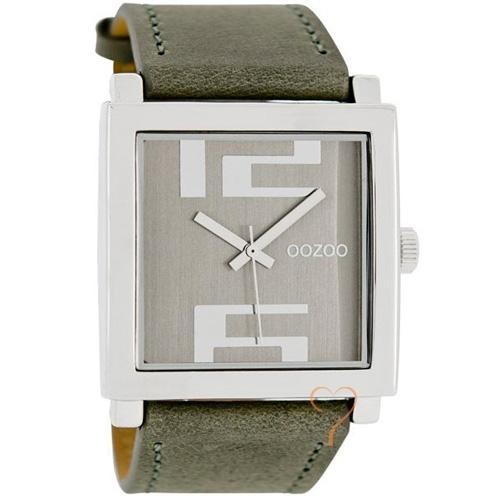 Ρολόι Oozoo Timepieces 48mm Silver Case