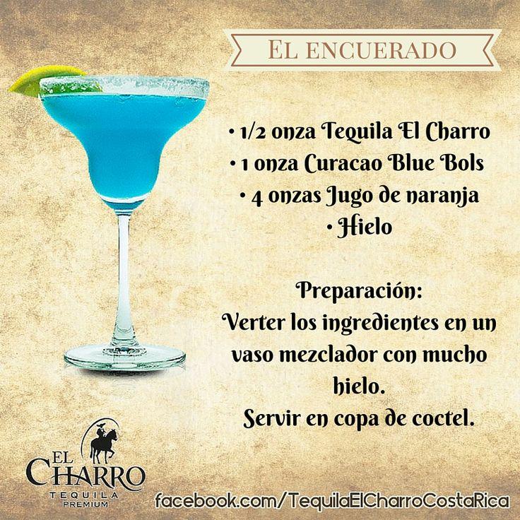 El Encuerado, con Tequila El Charro! #Tequila #TequilaElCharro #Coctel #Cocktail #ElEncuerado