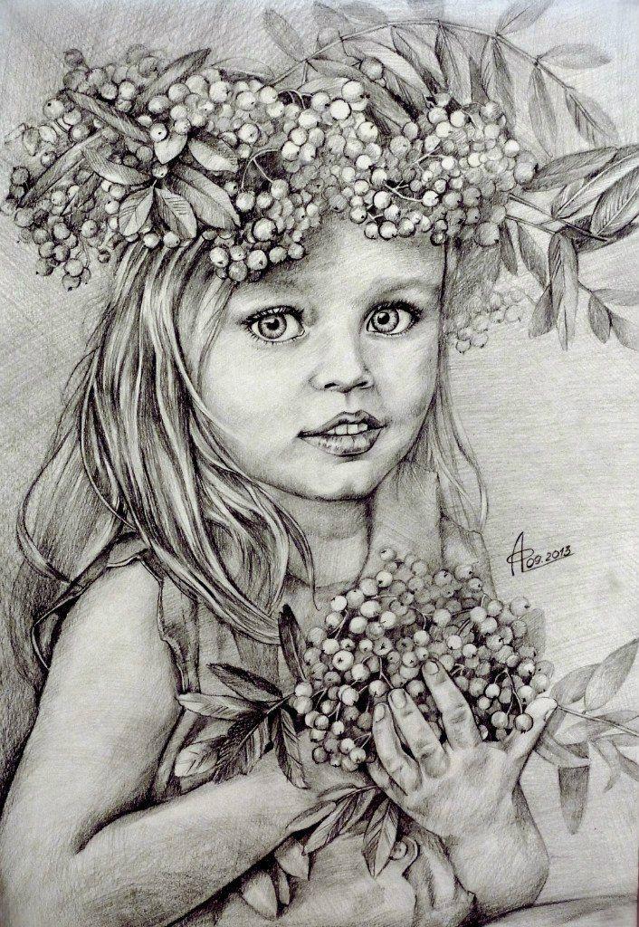 Картинки с ребенком нарисованные карандашом, поздравлением дня семьи