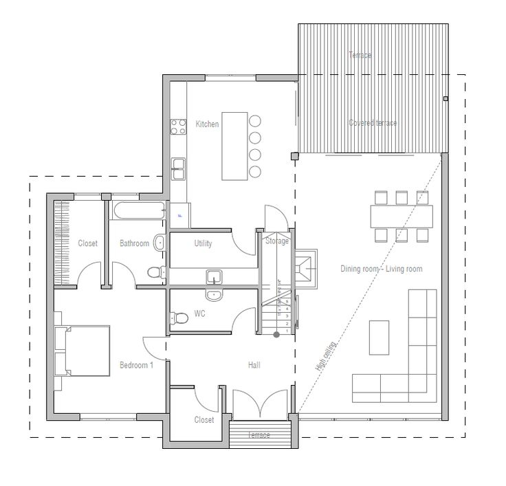 House Plan in Modern Architecture, New Home 2014 House Plan