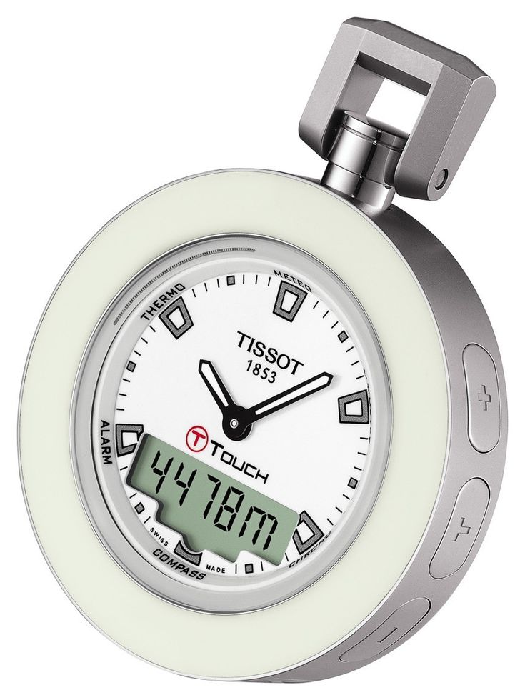 "Tissot T-Touch 'Pocket Touch' Watch by Ariel Adams ""The Tissot Pocket Touch is an interesting item with a distinct niche appeal which transforms the extremely popular Tissot T-Touch collection into a pocket watch..."""