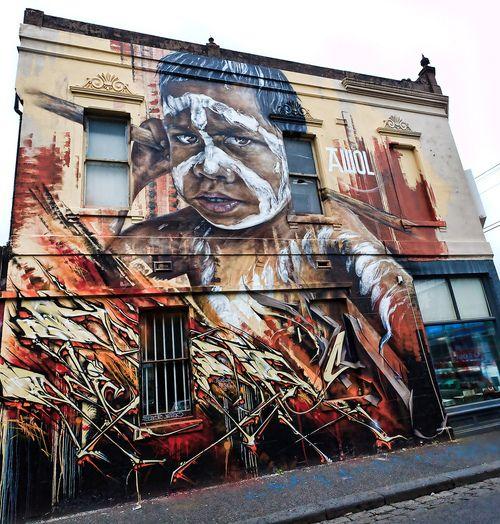 434 best art streets images on pinterest urban art for Australian mural