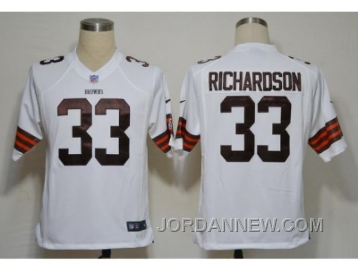 http://www.jordannew.com/nike-nfl-cleveland-browns-33-richardson-white-game-jerseys-discount.html NIKE NFL CLEVELAND BROWNS #33 RICHARDSON WHITE GAME JERSEYS DISCOUNT Only $23.00 , Free Shipping!
