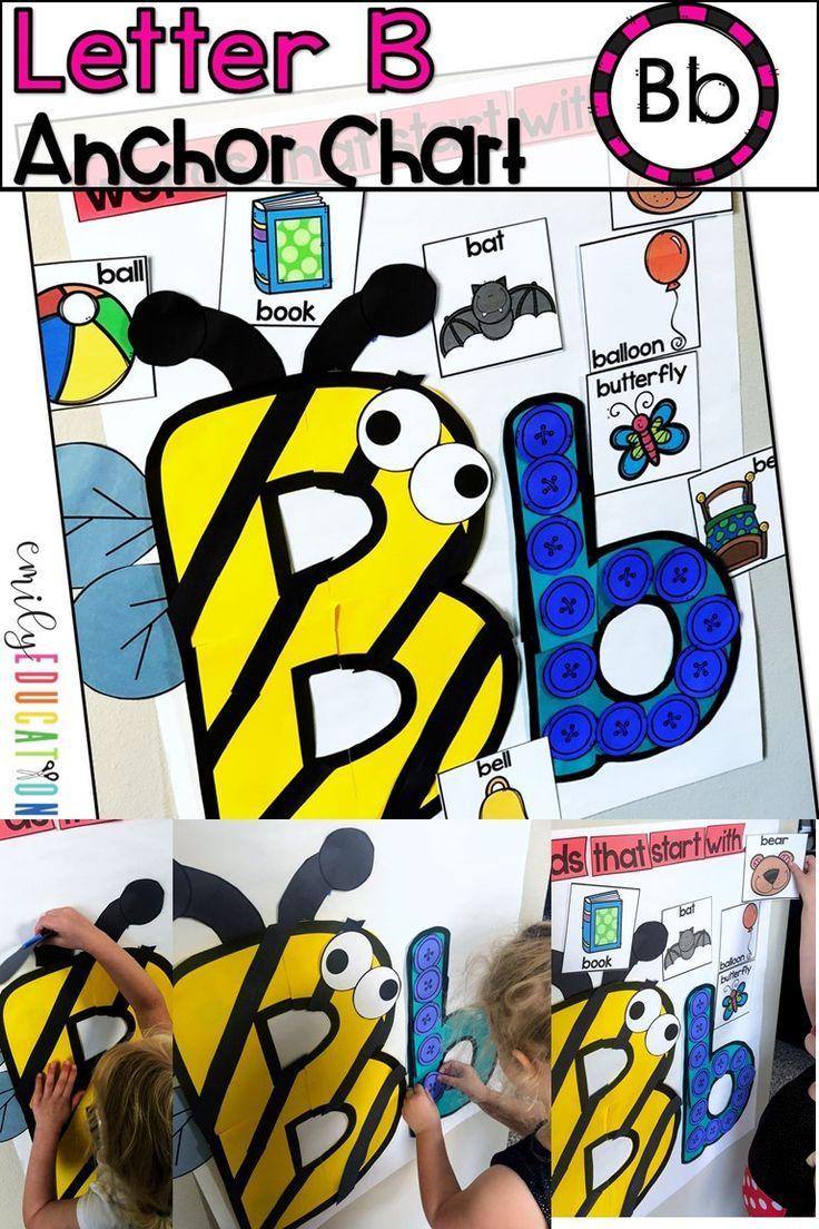 Alphabet Anchor Chart Letter B Interactive anchor
