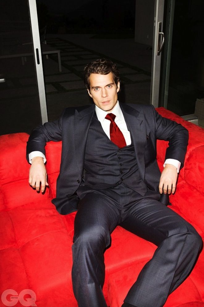 HenryCavill as Christian Grey?!?!?! YES!