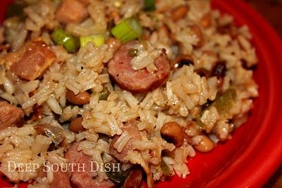 Black-eyed Pea Jambalaya - Deep South Hoppin' John
