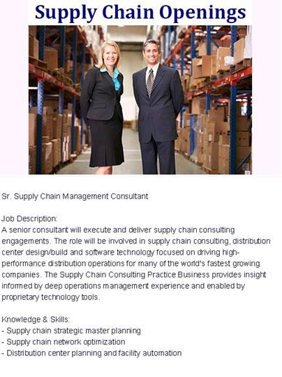 53 Best Supply Chain Management - Career Opportunities Images On
