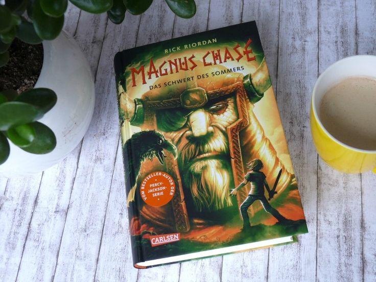 """Rezension zu """"Magnus Chase: Das Schwert des Sommers"""" von Rick Riordan, erschienen im Carlsen Verlag"""