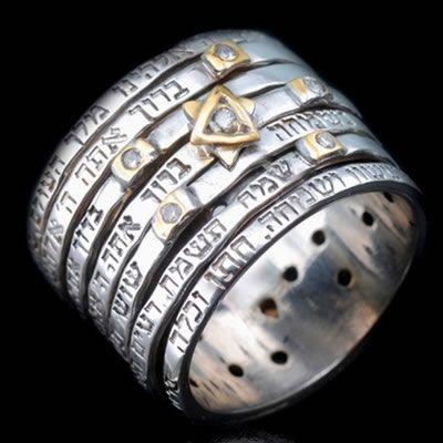 Jewish Wedding Ring Blessing