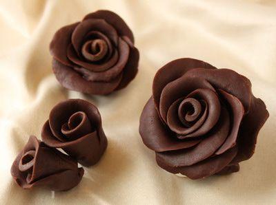 How to Make Chocolate Roses Photo Tutorial