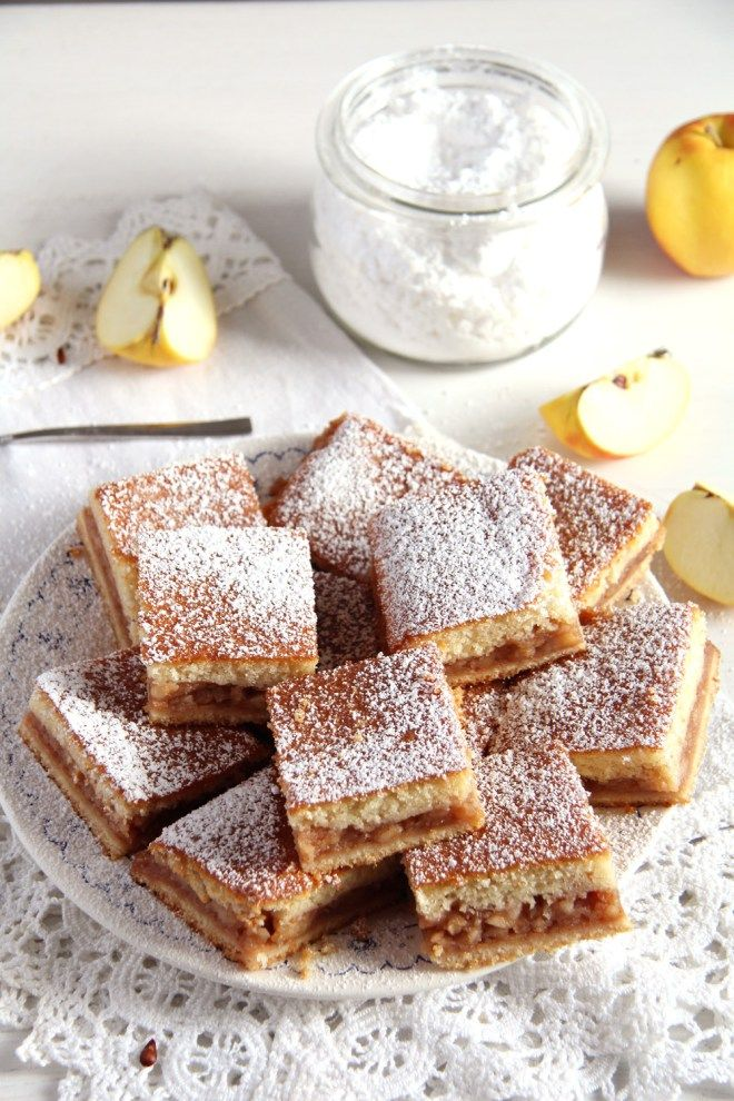 The Softest Apple Cake - Ricetta rumena (teglia 28x43)
