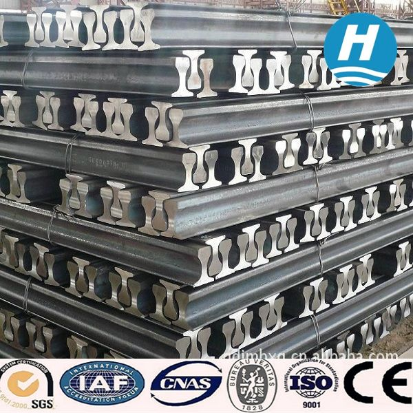 steel rails from China  whatsapp: +86 134 6350 1290 skype: portia2008@foxmail.com