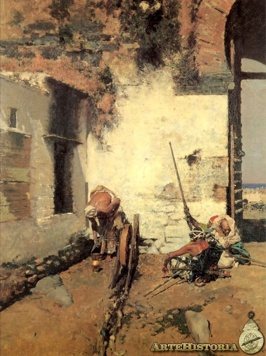 Autor: Mariano Fortuny Marsal Fecha: 1872