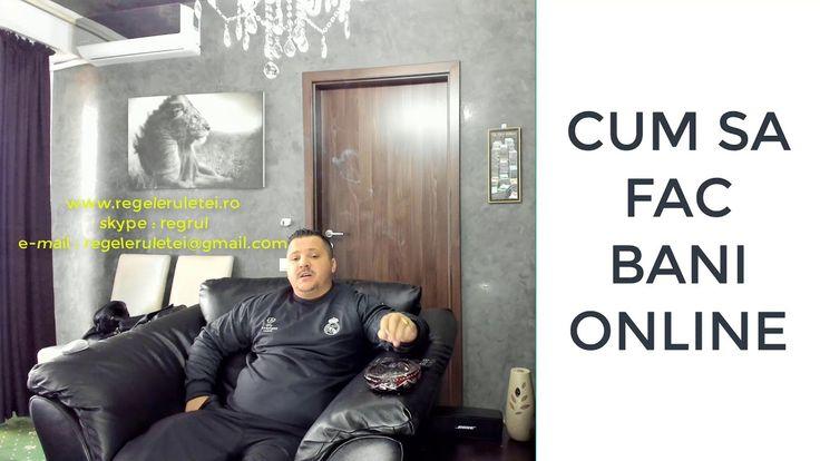 Cum Sa Fac Bani Online 2018