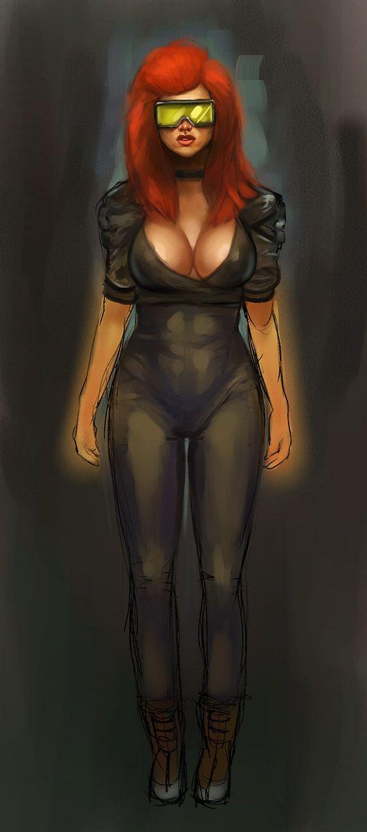 Quake 3: Mynx again by gausswerks.deviantart.com on @DeviantArt